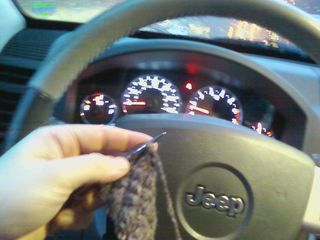 Knittingincar